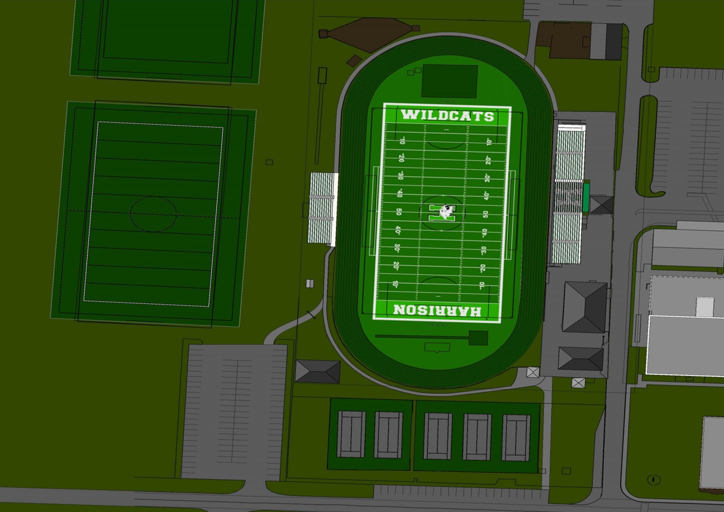 Rendering of new field